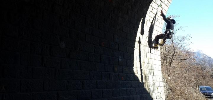 Site de dry du tunnel de Roche Rousse